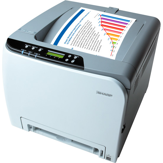 Sharp DX-C200P Printer kleur